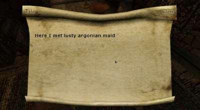 Morrowind — Берём записки с собой! | Morrowind моды