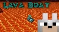 Minecraft — LavaBoat / Лодки для плавания по лаве | Minecraft моды