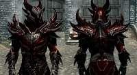 Skyrim — Даэдра броня и оружие из «Кровавого металла» | Skyrim моды