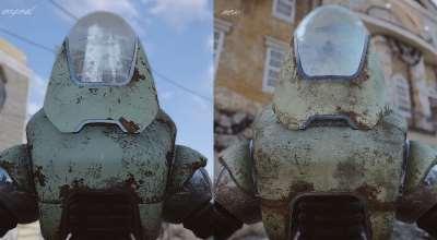 Fallout 4 — Ретекстур Протектрона | Fallout 4 моды