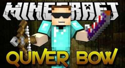 Minecraft — Quiverbow / Новые виды оружия (луки, арбалеты, ракетница и миномет) | Minecraft моды