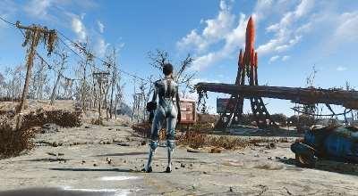 Fallout 4 — Костюм Керриган | Fallout 4 моды
