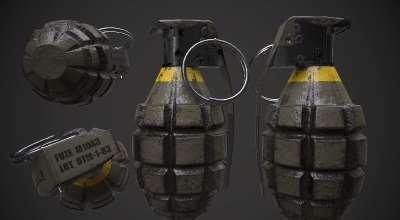 Fallout 4 — Граната МК2 — автономная / реплейсер | Fallout 4 моды