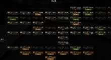 World Of Tanks 0.8.6 — Компактное горизонтальное древо развитий от kodos | World Of Tanks моды