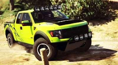 GTA 5 — 2012 Ford F150 SVT Raptor | GTA 5 моды