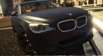 GTA 5 — BMW 750Li 2009 года | GTA 5 моды