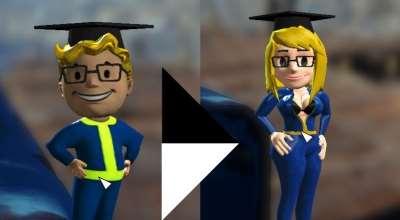 Fallout 4 — Vault Girl Bobbleheads | Fallout 4 моды