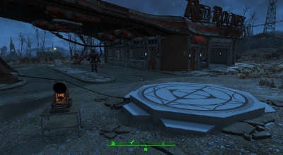 Fallout 4 — Система транспортировки из Звёздных Врат | Fallout 4 моды