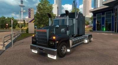 ETS 2 — Mack Titan V8   ETS2 моды