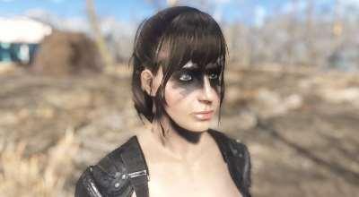 Fallout 4 — Татуировка Quiet | Fallout 4 моды