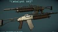 Fallout NV — оружие Катализатор AAS | Fallout New Vegas моды