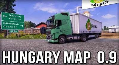 ETS 2 — Карта Венгрии (Hungary Map) | ETS2 моды