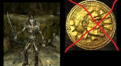 Skyrim — Драугры без золота