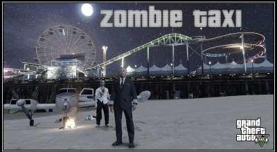 GTA 5 — Зомби такси (Zombie Taxi) | GTA 5 моды
