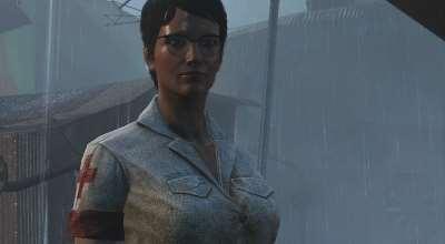 Fallout 4 — Форма медсестры (CBBE) | Fallout 4 моды
