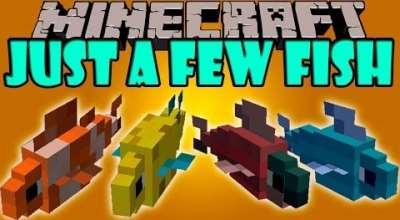Minecraft — Just a Few Fish / Рыбалка — это хобби! | Minecraft моды