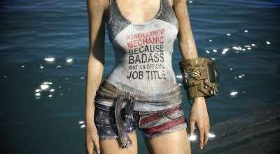 Fallout 4 — Одежда Содружества (для CBBE) | Fallout 4 моды