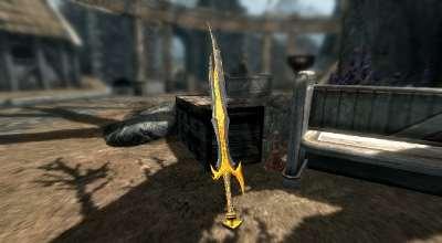 Skyrim — Новый меч «Пламенный меч» | Skyrim моды
