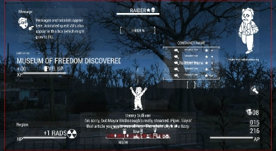 Fallout 4 — Настраиваемый HUD и интерфейс инвентаря | Fallout 4 моды