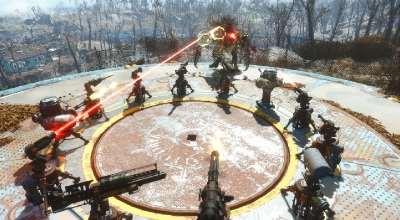 Fallout 4 — Портативные турели | Fallout 4 моды