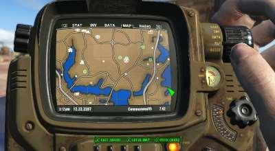 Fallout 4 — Цветная карта | Fallout 4 моды