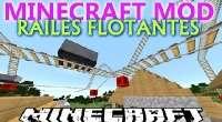 Minecraft — Парящие в воздухе рельсы для 1.7.10/1.7.2/1.6.4 | Minecraft моды