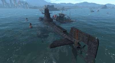 Fallout 4 — АПЛ «Неустрашимый» | Fallout 4 моды