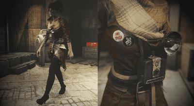 Fallout 4 — Переделанный наряд Пайпер (CBBE) | Fallout 4 моды