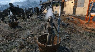 Fallout 4 — Рабочие туалеты, ванны, раковины | Fallout 4 моды