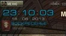 World Of Tanks 0.8.6 — Цифровые часы в ангар | World Of Tanks моды
