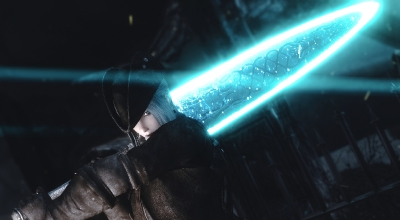 Skyrim — Меч Лунного Света из Dark Souls | Skyrim моды