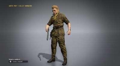 MGS V: TPP — Казухира Миллер (Kazuhira Miller Mod) | Metal Gear Solid V моды