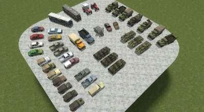Garrys Mod — Пак транспорта из Arma II | Garrys mod моды