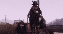 Fallout NV — Милтон и Хэнтс — тараканы-напарники | Fallout New Vegas моды