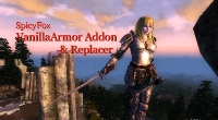 Oblivion — Реплейсер женской оригинальной брони (SpicyFox vanillaArmor Addon and Replacer) | Oblivion моды