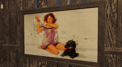 Fallout 4 — «Pinup» реплейсер картин (Atom Bomb Pinup Paintings and Billboards) | Fallout 4 моды