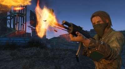 Fallout 4 — АК-47 (Автономное оружие) | Fallout 4 моды