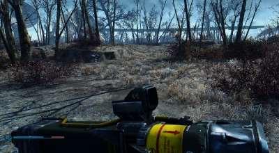 Fallout 4 — Держим оружие ниже когда не стреляем (+DLC) | Fallout 4 моды