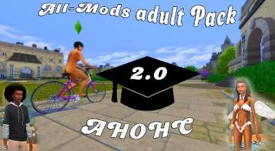 Sims 4 — All-Mods Adult Pack АНОНС