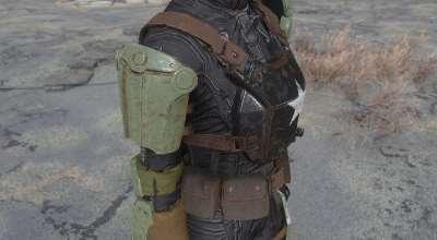 Fallout 4 — Боевая Броня, Реплейсер   Fallout 4 моды