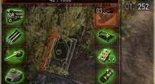 World Of Tanks 0.8.6 — Прозрачная зеленая панель повреждений | World Of Tanks моды