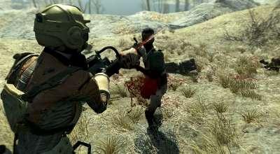 Fallout 4 — Бензопила убийцы | Fallout 4 моды
