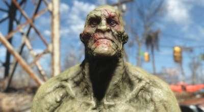 Fallout 4 — Ретекстур Супермутантов | Fallout 4 моды