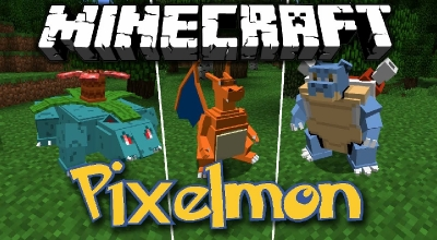 Minecraft — Pixelmon / Покемоны (Клиент/Сервер)