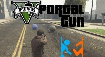 GTA 5 — Портальная пушка (Portal Gun) | GTA 5 моды