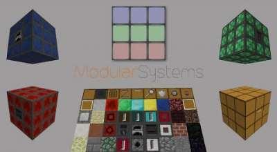Minecraft — Modular Systems | Minecraft моды