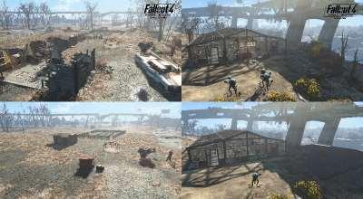 Fallout 4 — Очистка поселений | Fallout 4 моды
