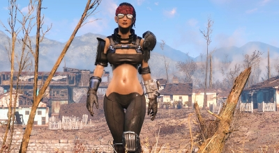 Fallout 4 — Спартанская снайперская экипировка (для CBBE) | Fallout 4 моды