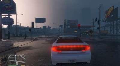 GTA 5 — Улучшение графики (Sharp Vibrant Realism for GTA 5)   GTA 5 моды