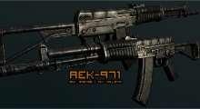 Fallout NV — AEK-971 | Fallout New Vegas моды